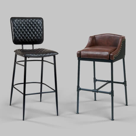 modern restaurant bar stools