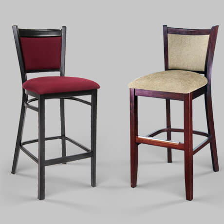 traditional restaurant bar stools