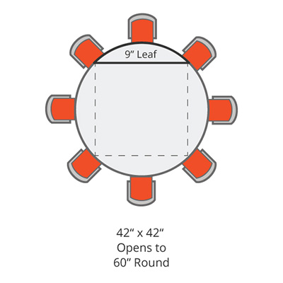 drop leaf restaurant tables 42x42