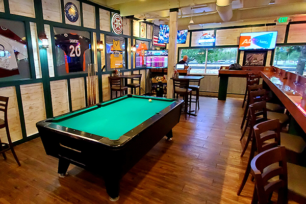 The Sports Bar and Grill Look