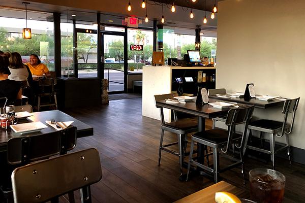 Modern Industrial Restaurant Design