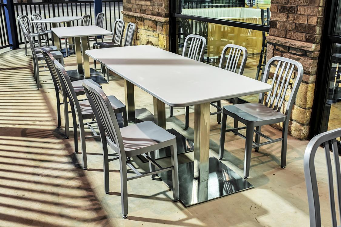 Patio restaurant furniture