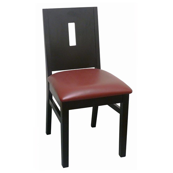 Modern Deco Style Wood Chair