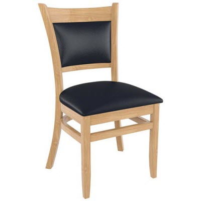 Upholstered restaurant chairs