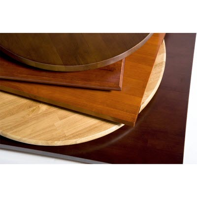 solid wood restaurant table tops